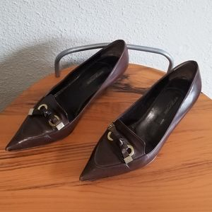 Sergio Rossi Heels size 37.5 pointed toe